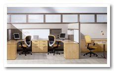 Used Cubicle Kimball