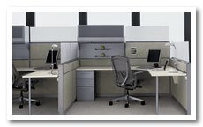 Used Cubicle Teknion